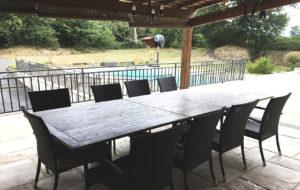 Villa avec piscine chauffé dans le 49
